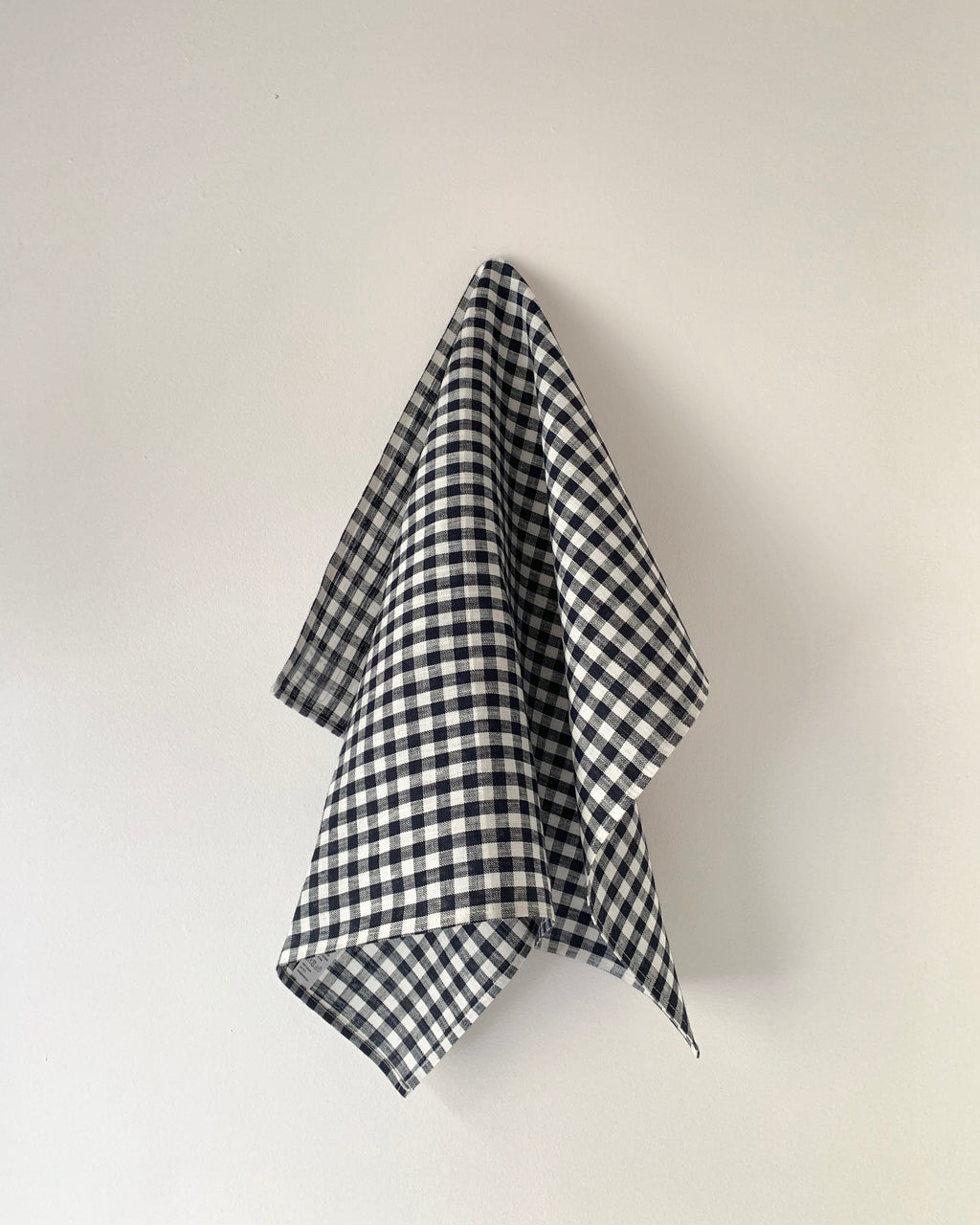 Kitchen Cloth: Navy White Check