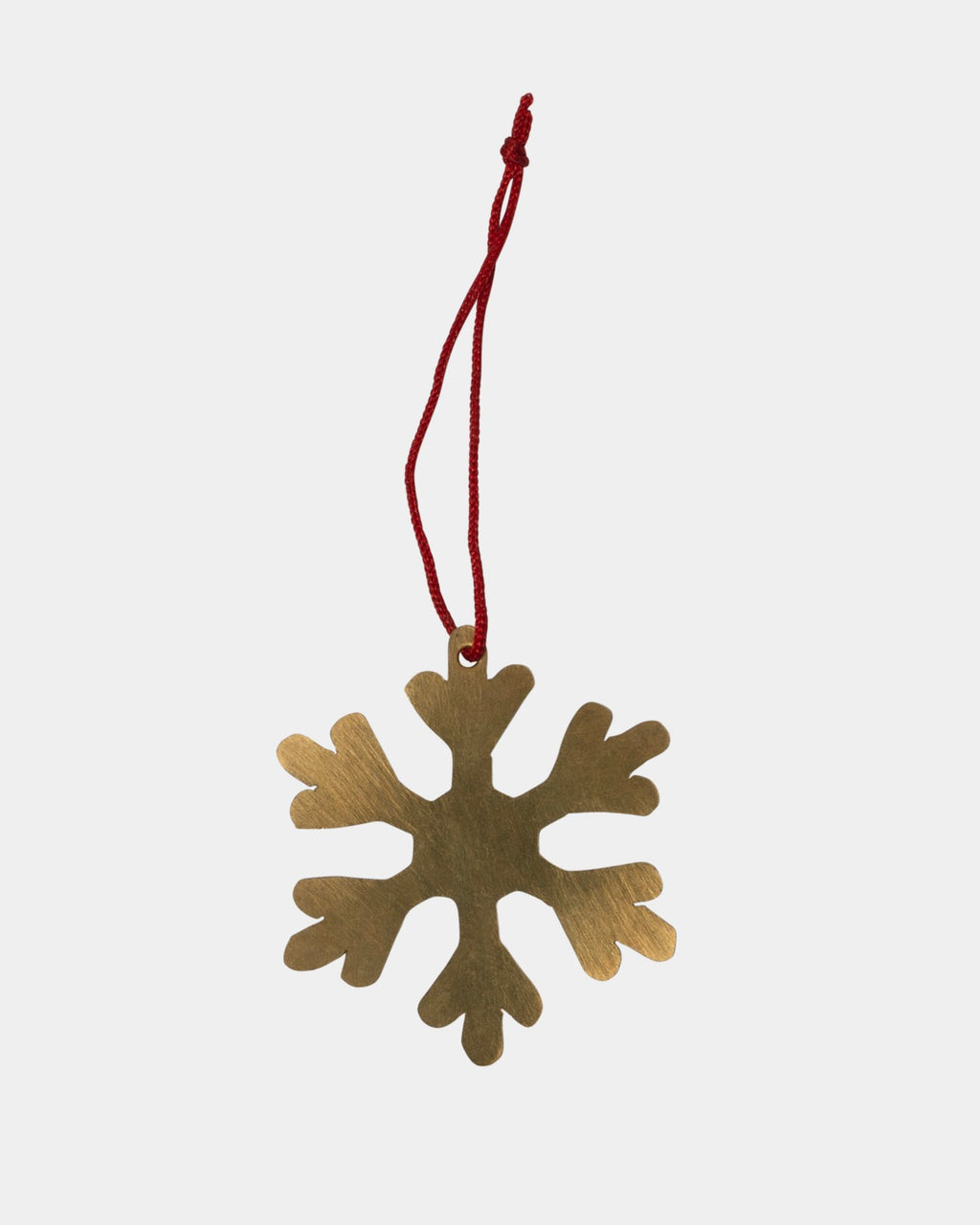 Brass Snowflake Ornament-B