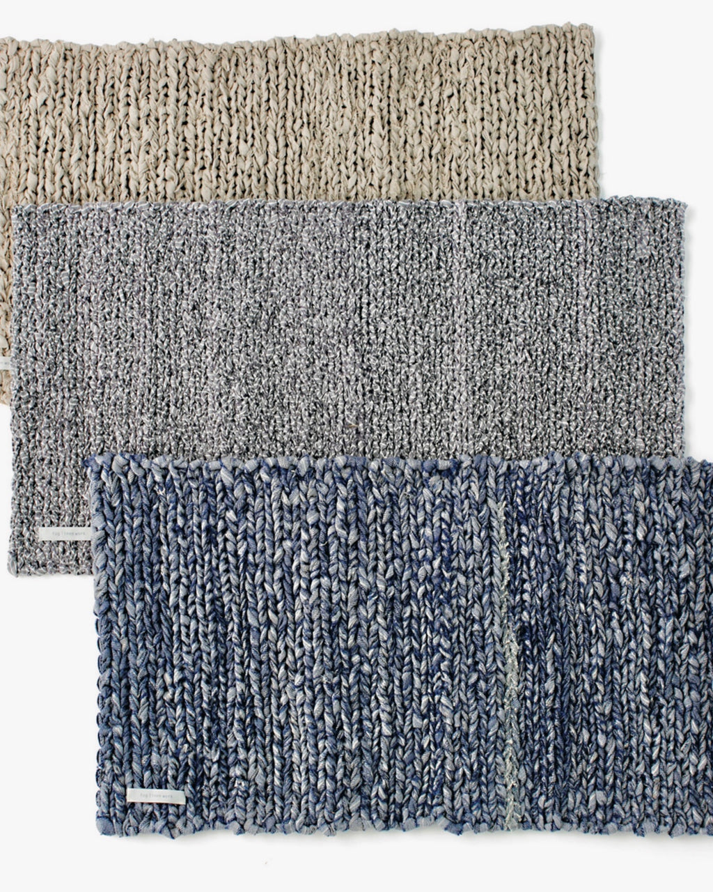 Linen Knit Floor Mat