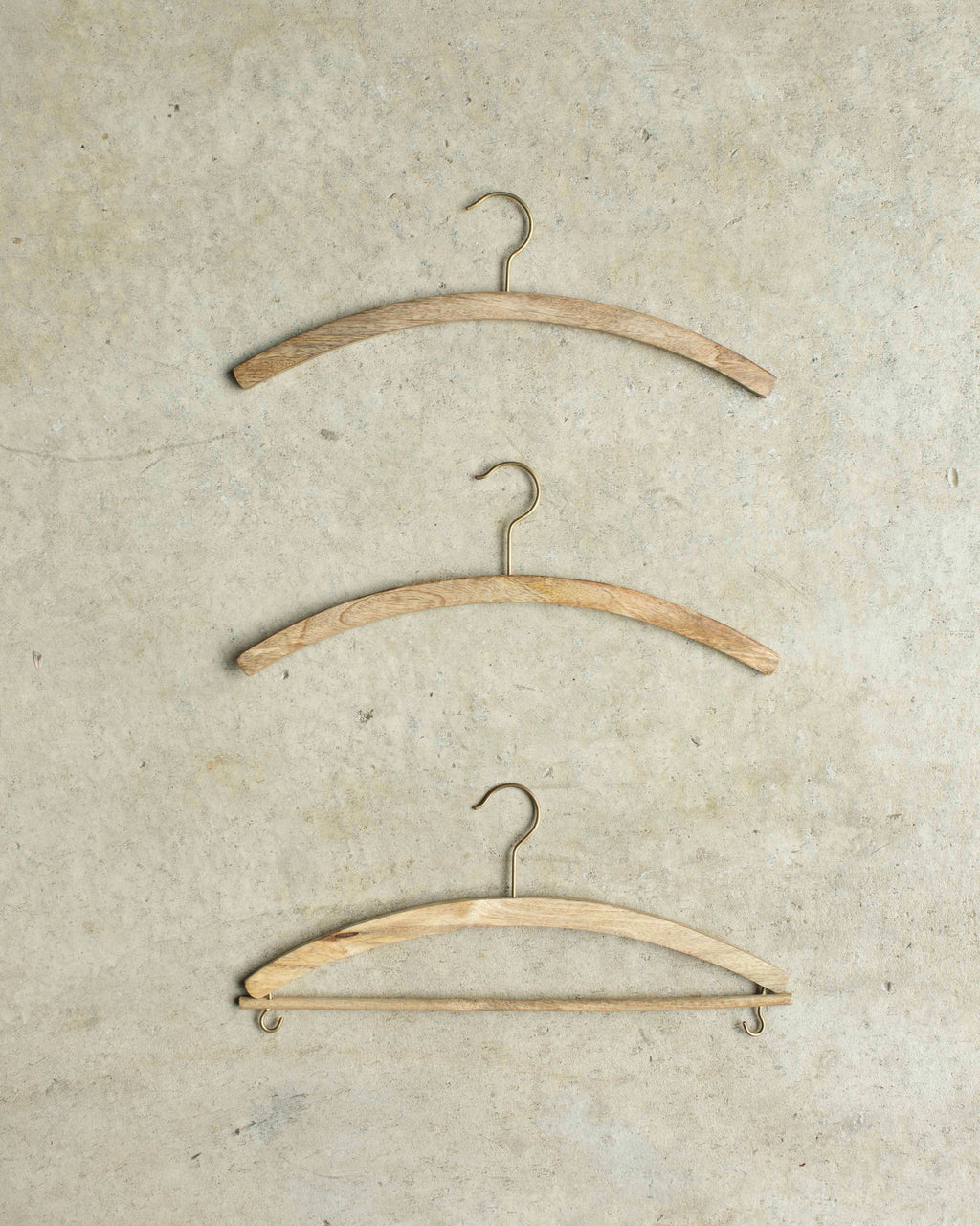 Mango Wood Shirt Hanger