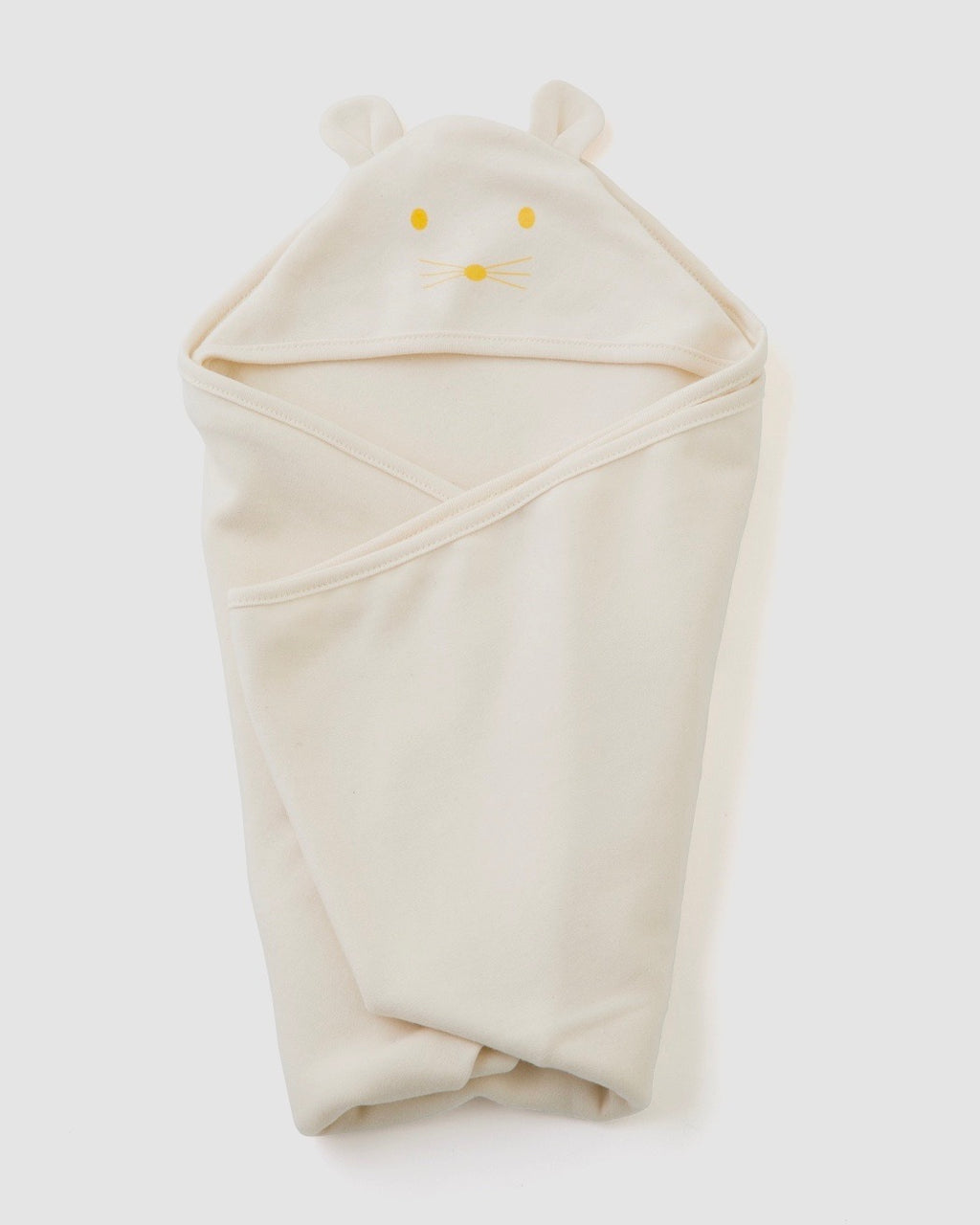 Hooded Cotton Swaddle