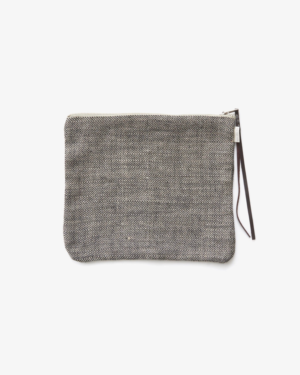 Canna Pouch: Chocolate Herringbone