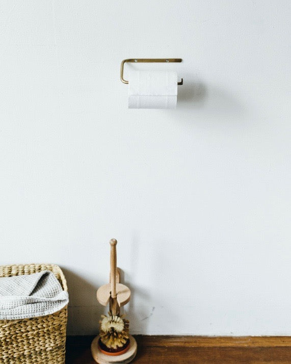 Brass Toilet Paper Holder