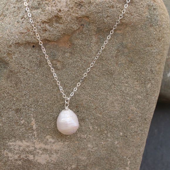 Baroque Fresh Water Pearl Necklace