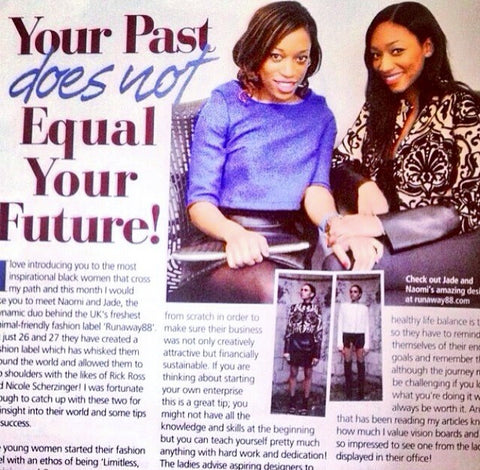 PRIDE MAGAZINE FEATURES CO-FOUNDERS OF RUNAWAY88