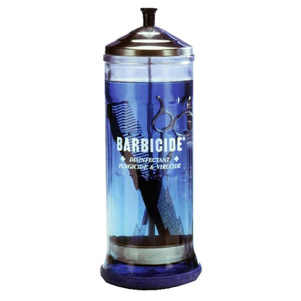 Barbicide Disinfecting Jar - Empire Barber Supply