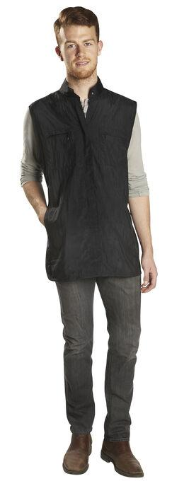 LE PRO ONE-SIZE UNISEX ZIPPERED VEST WITH MESH BACK - Empire Barber Supply