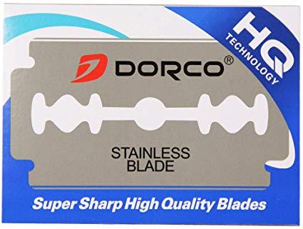Dorco Platinum Extra Double Edge Razor Blades (100 CT) - Empire Barber Supply