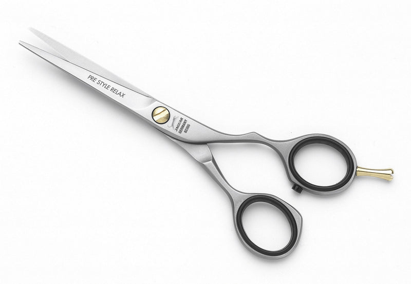 "Jaguar Offset Pre-Style Relax 7"" Shears - Empire Barber Supply"