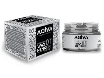 Agiva Color Wax Grey 01 - Empire Barber Supply