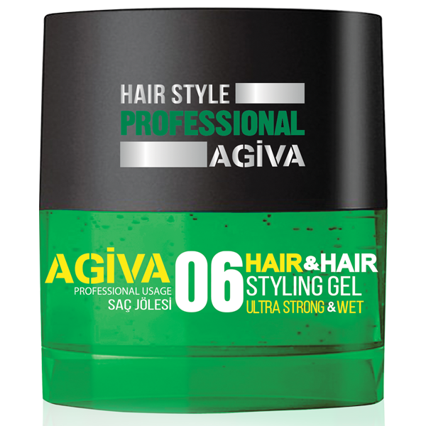 Agiva Hair Gel 06 - Empire Barber Supply