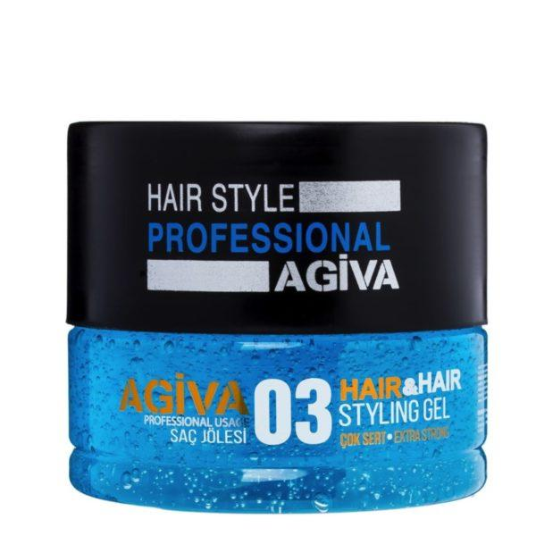 Agiva Hair Gel 03 - Empire Barber Supply