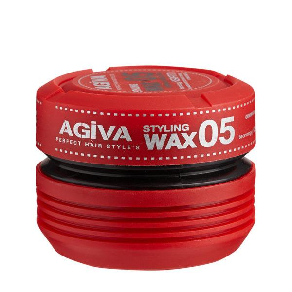 Agiva Styling Wax 05 (Strong Hold + Keratin) - Empire Barber Supply