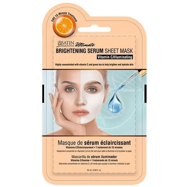 Satin Smooth Brightening Serum Sheet Mask