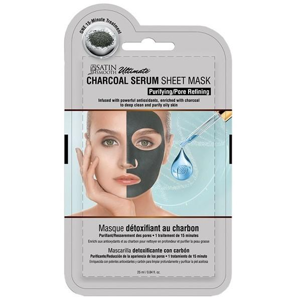 Satin Smooth Charcoal Serum Sheet Mask