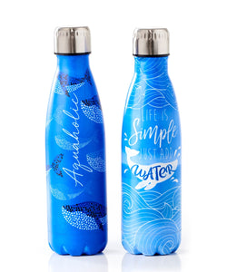 Steel Double Wall Water Bottle .