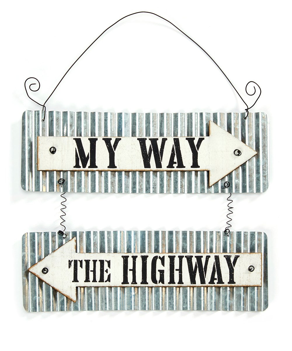 Home Decor Metal Wall Sign