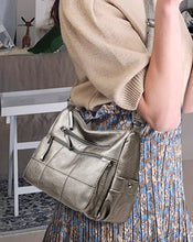 Load image into Gallery viewer, Soft Real Leather Luxury Ladies Handbags Crossbody Bag Shoulder Messenger Bronze