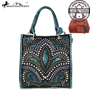Montana West Bling Bling Collection Concealed Satchel/Crossbody