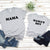 Light Gray Mama & Mama's Boy Matching Tees