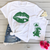 Mommy & Kids Lip Dinosaur Hat Matching Tees