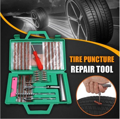 Tire Puncture Repair Tool Set