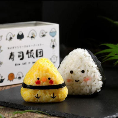 2PCS Triangle Sushi Mold