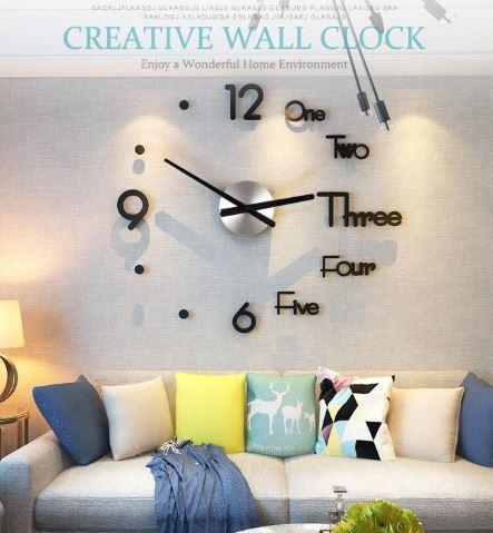 3D Wall Sticker Clock - Members Only - Shop Marleys