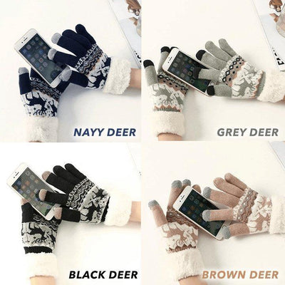 Extra-warm Fleece Touchscreen Gloves - Members Only - Shop Marleys