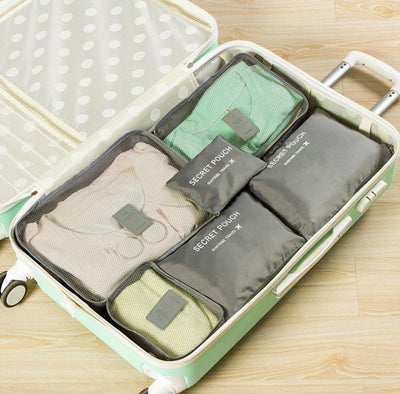 Luggage Packing Organizer Set (6pc) - Members Only - Shop Marleys