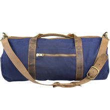 Load image into Gallery viewer, Waxed Canvas Duffle Bag