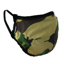 Load image into Gallery viewer, Woodland Camo - Namaske Style Face Mask