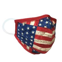 Load image into Gallery viewer, Stars & Stripes - Namaske Style Face Mask