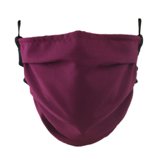 Load image into Gallery viewer, Wine Red - Surgical Style Face Mask