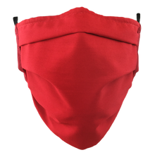 Load image into Gallery viewer, Red - Surgical Style Face Mask