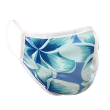 Load image into Gallery viewer, Namaske Reusable Face Masks with Tropical Breeze Hawaiian Flower Print