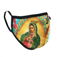 Load image into Gallery viewer, Virgen De Guadalupe - Namaske Style Face Mask