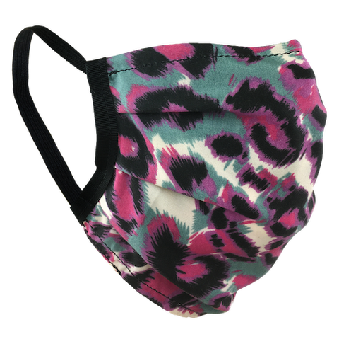 Animal Print Pink - Washable & Reusable Surgical Style Face Masks