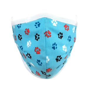 Pawsitive Blues - Namaske Style Face Mask