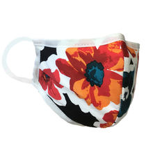 Load image into Gallery viewer, Namaske Face Mask with Hawaiian Flower Pattern