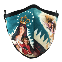 Load image into Gallery viewer, Virgen De La Caridad Face Mask - Blue