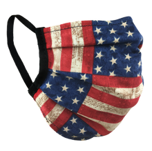 Load image into Gallery viewer, Stars & Stripes - Surgical Style Face Mask