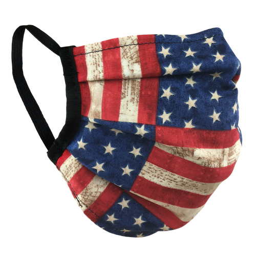 Stars & Stripes - Surgical Style Face Mask