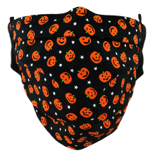 Load image into Gallery viewer, Pumpkin Patch - Surgical Style Face Mask