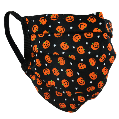 Pumpkin Patch - Surgical Style Face Mask