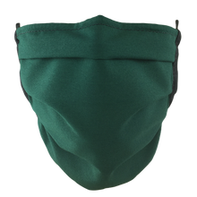 Load image into Gallery viewer, Hunter Green - Surgical Style Face Mask