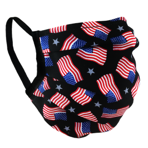 American Flags - Washable & Reusable Surgical Style Face Masks
