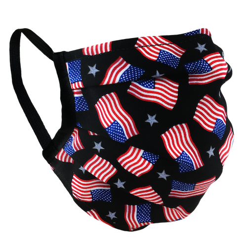 American Flags - Surgical Style Face Mask
