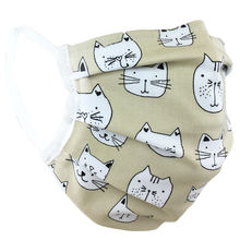 Load image into Gallery viewer, Purrfect - Surgical Style Face Mask