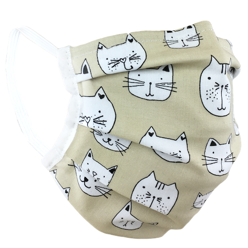 Purrfect - Surgical Style Face Mask